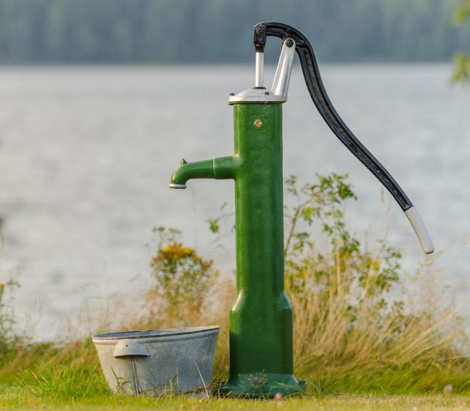 Useful Home Articles Drinking Water Hand Pump For Bottled: What Is Water Pumping? (with Pictures