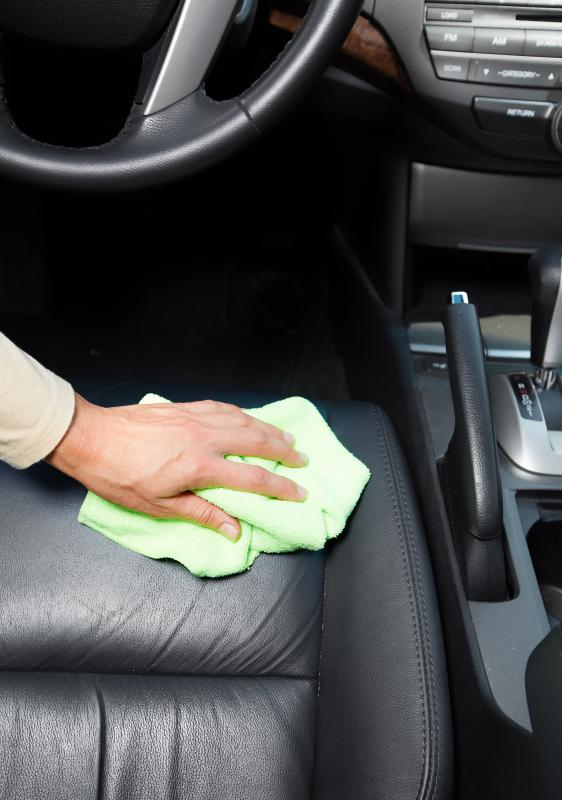 Leather Is A Popular Car Upholstery Fabric