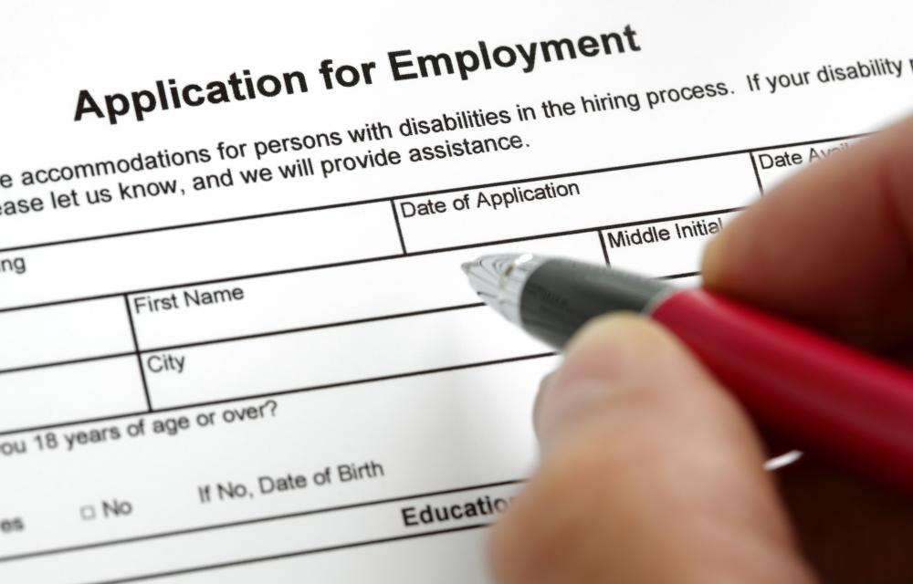 A staffing coordinator might be responsible for developing job applications.