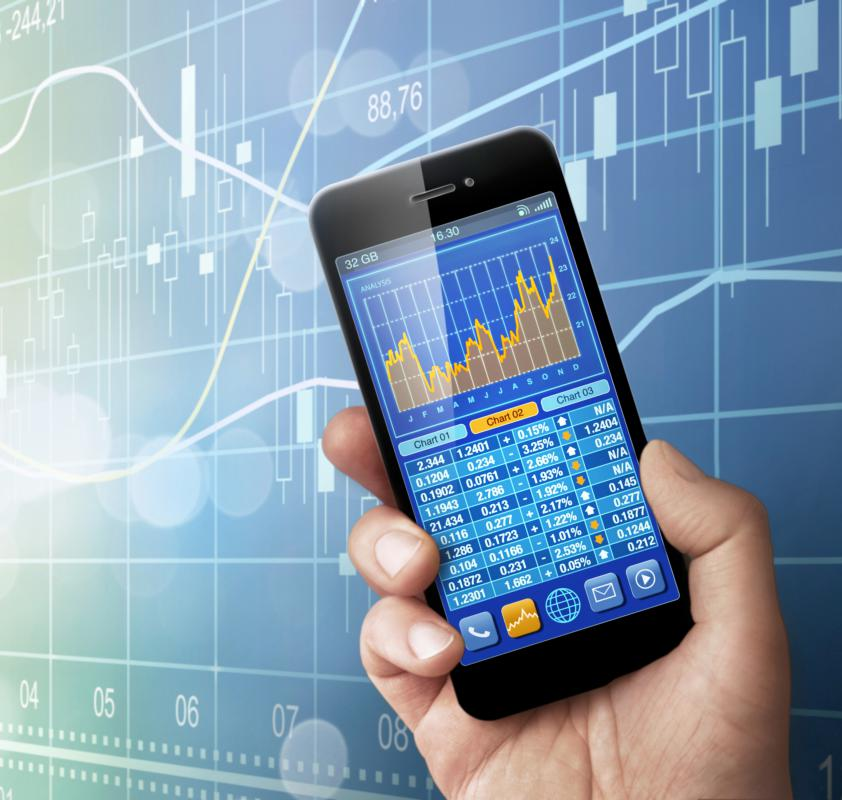Internet software tools can help keep track of capital market trends.