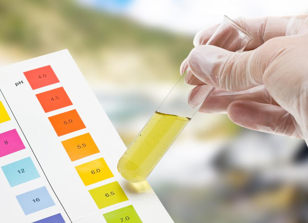 Without a pH meter, the acidity of a sample must be tested using chemical agents.