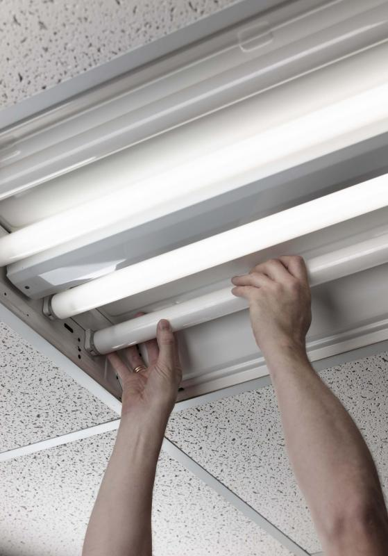 one of fluorescent lights is that they are more expensive than bulbs