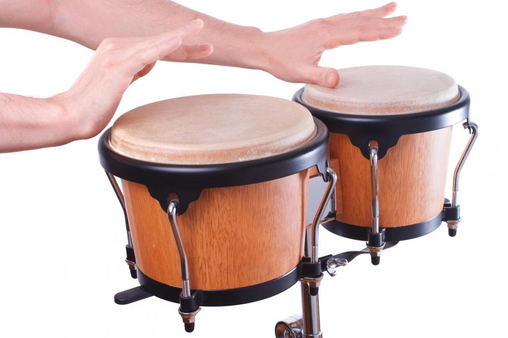 Bongos consist of two drums.