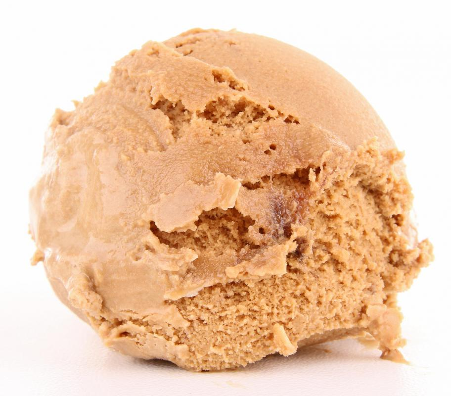 Ice cream is made from cream and tends to be higher in fat than frozen yogurt.