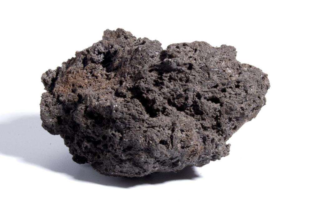 Pumice igneous rocks have a sponge-like appearance and a low density.
