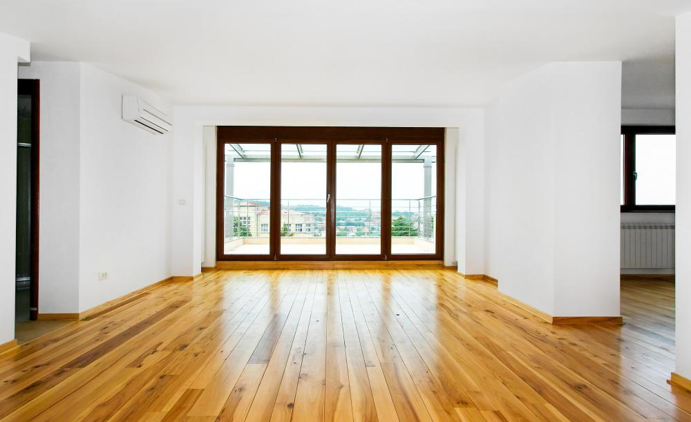 A house with hardwood flooring. - What Is The Best Way To Clean Hardwood Floors? (with Pictures)