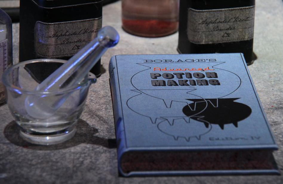 Potion making plays a vital role in the Harry Potter novels.