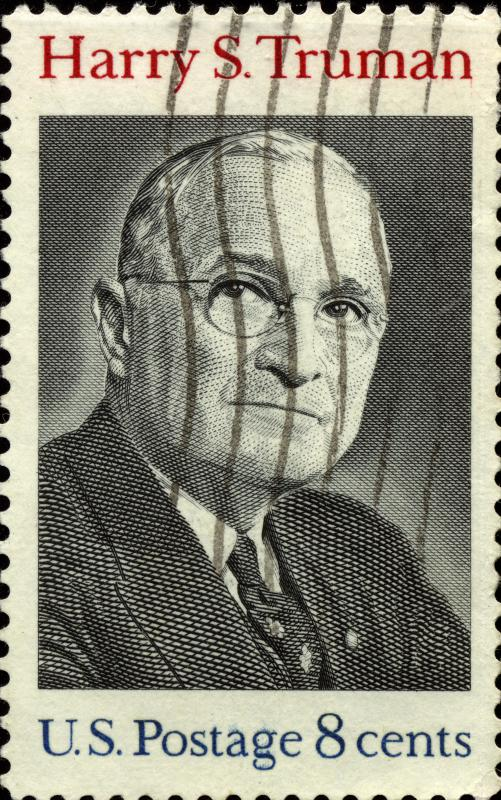 US President Harry S. Truman.