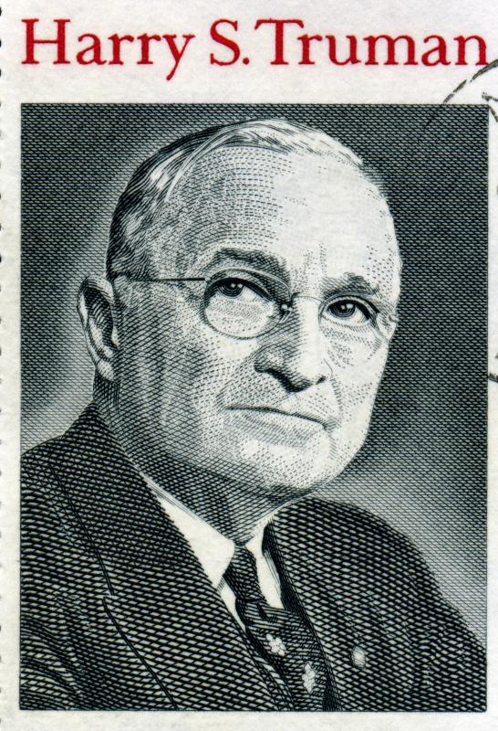 President Harry Truman authorized the dropping of two atomic bombs on Japan and the development of the hydrogen bomb.