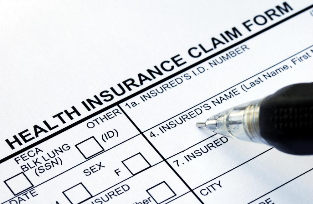 There are several types of insurance claim forms.