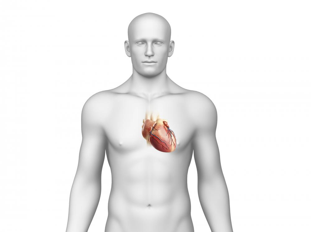 An angiography may be performed to examine the heart.