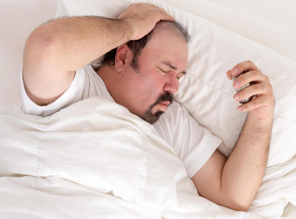 Sleep apnea and difficulty sleeping are common symptoms of obesity.