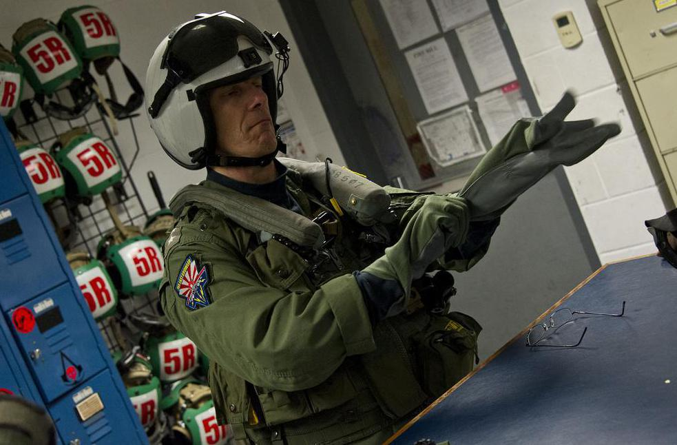 Modern flight suits enable pilots to survive high G forces.