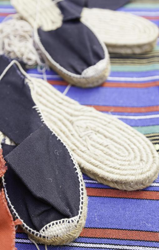 Shoes, sweaters, pants and socks are among the many clothing items which can be made from hemp.