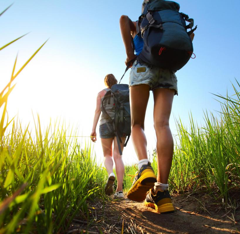 The packing list for a day hike can be relatively short, depending on the weather and the length of the hike.