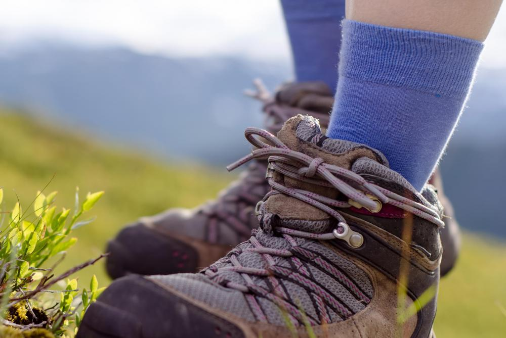 Trekking will require a nice pair of sturdy hiking boots.