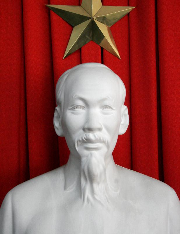 Ho Chi Minh led North Vietnam at the war's outset.