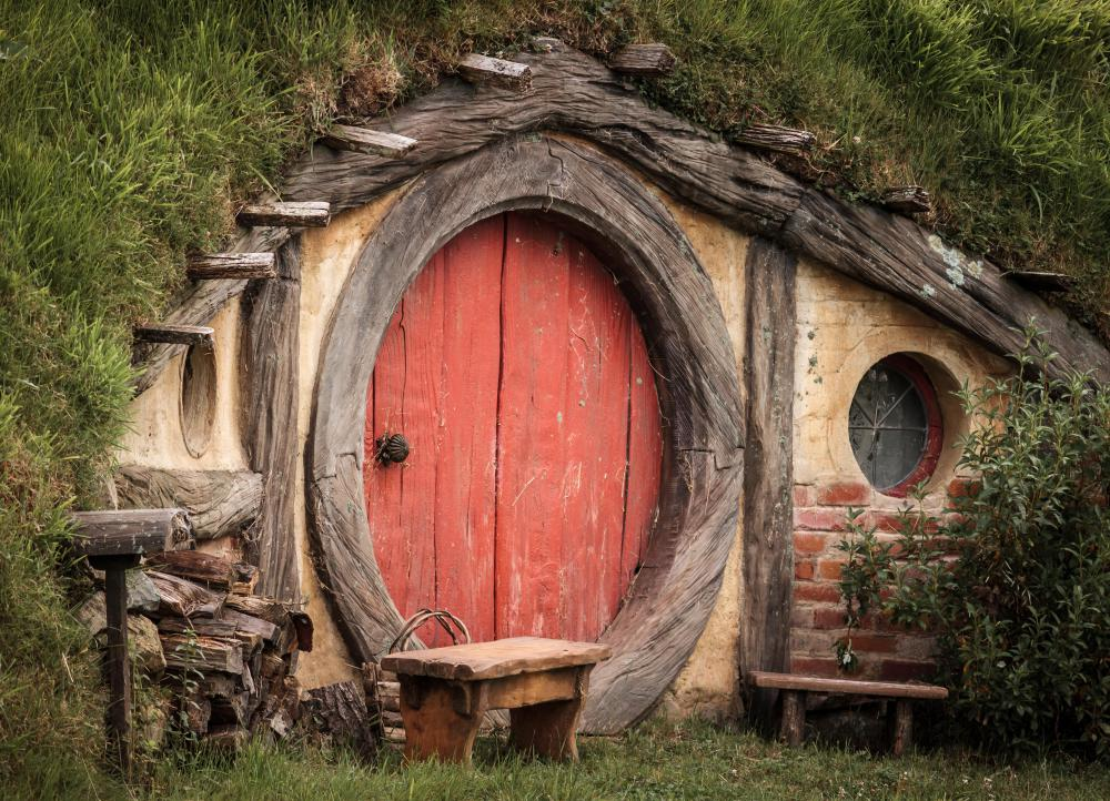 "Terms that basically mean a home is about the size of one in ""The Hobbit"" include ""modest,"" ""cozy"" and ""intimate."""