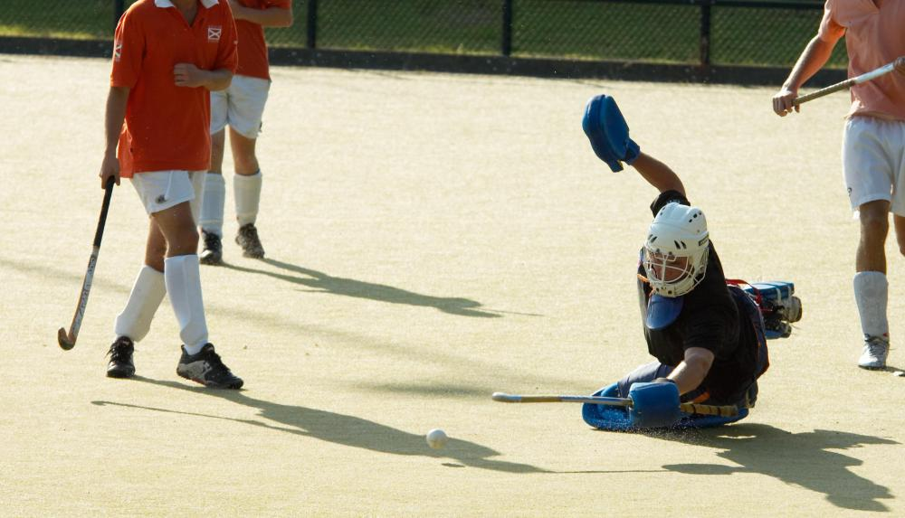 Kevlar is used in the construction of field hockey sticks and other types of sports equipment.