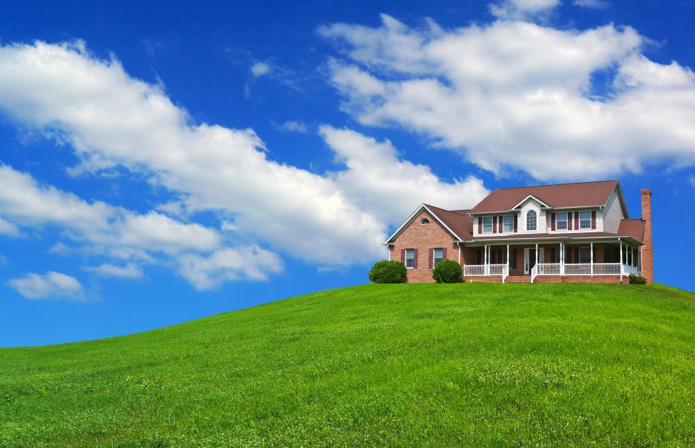 Buying a home in a rural area may be less expensive than in an urban area.