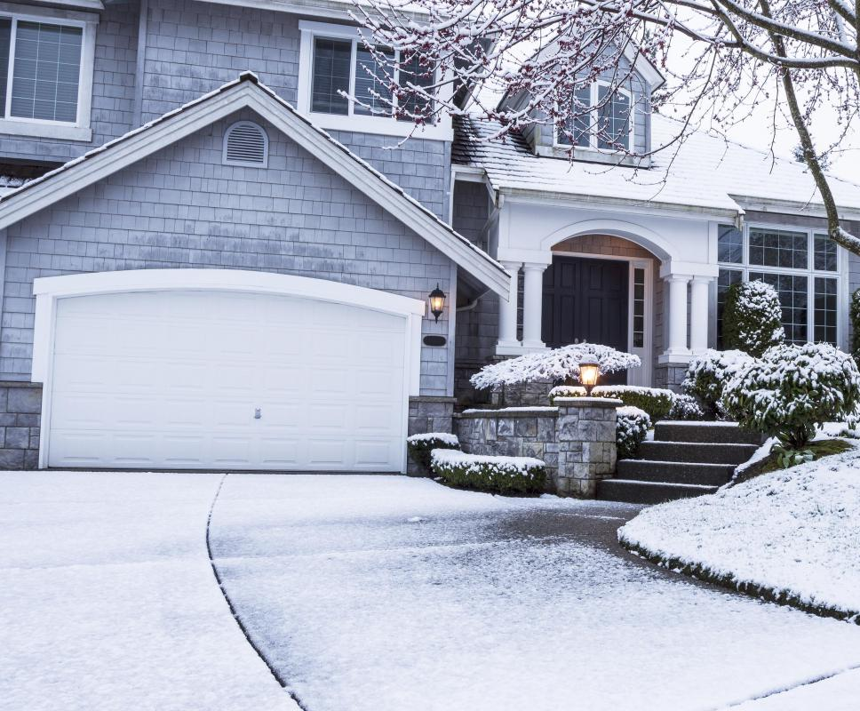 Snow removal in the wintertime can be one of the most significant hidden driveway costs.