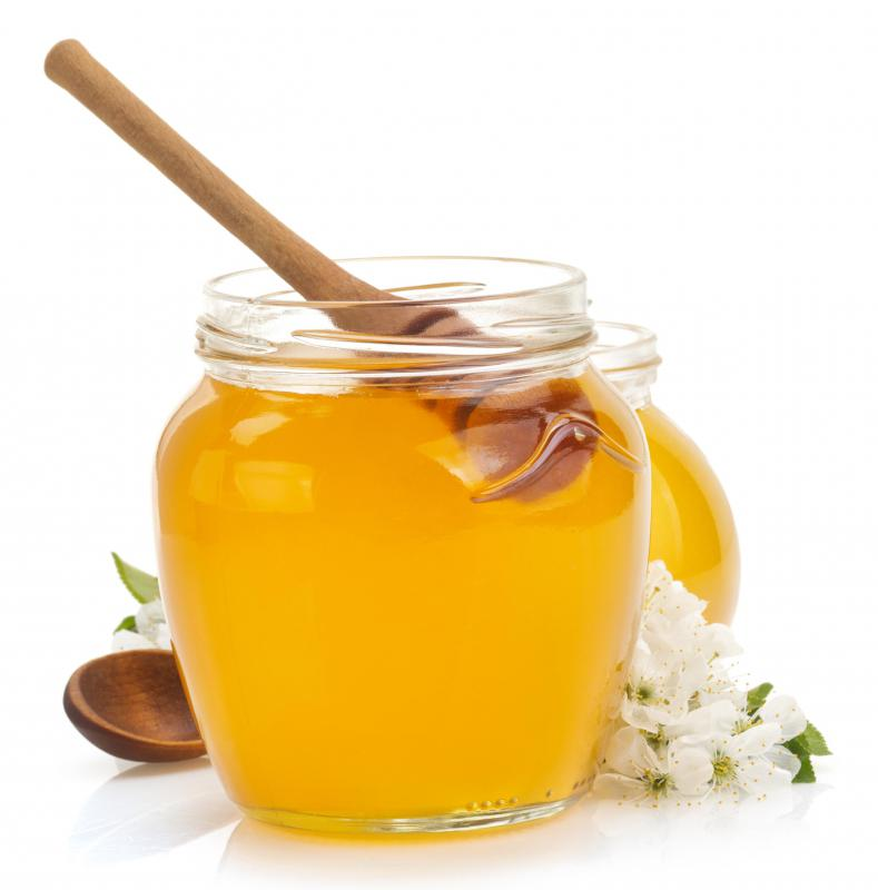 Honey is used as a sweetener in some Catalina salad dressings.