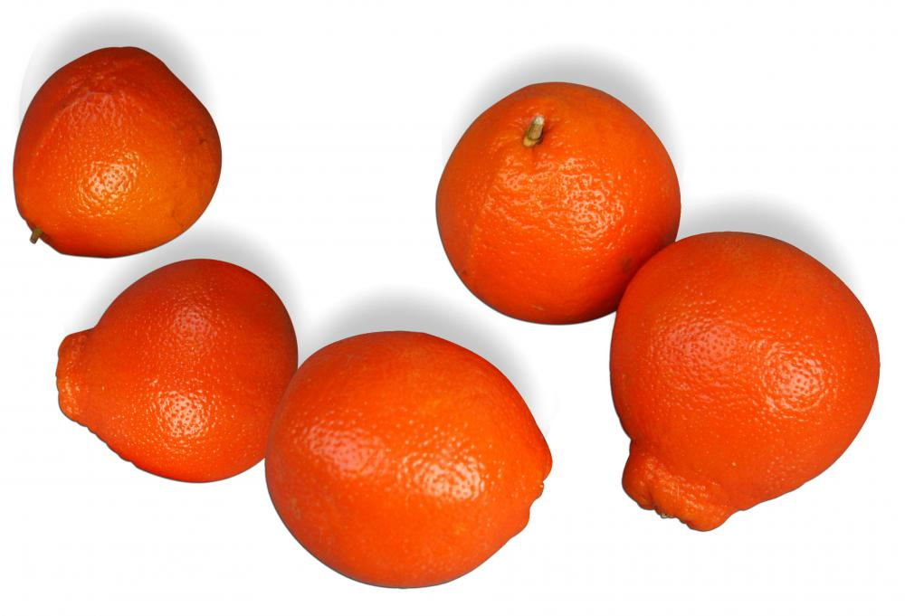 Honey tangerines are grown in Florida.