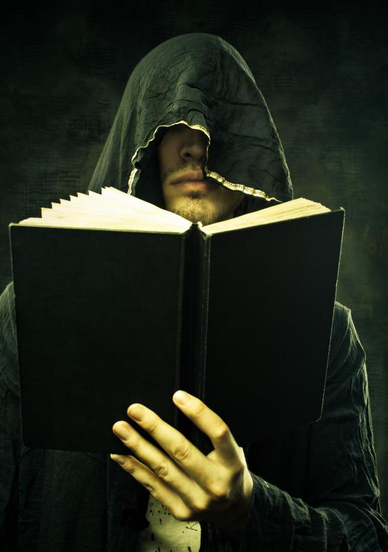 Horror books may have supernatural elements to increase suspense.