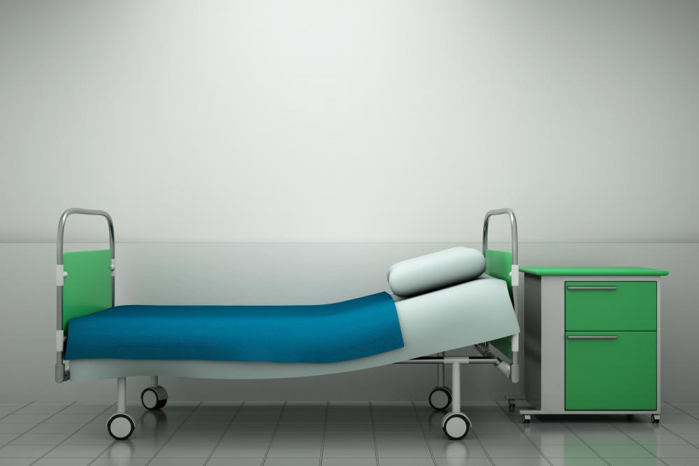 Visco elastic foam is frequently used in hospital beds for patient comfort and support.