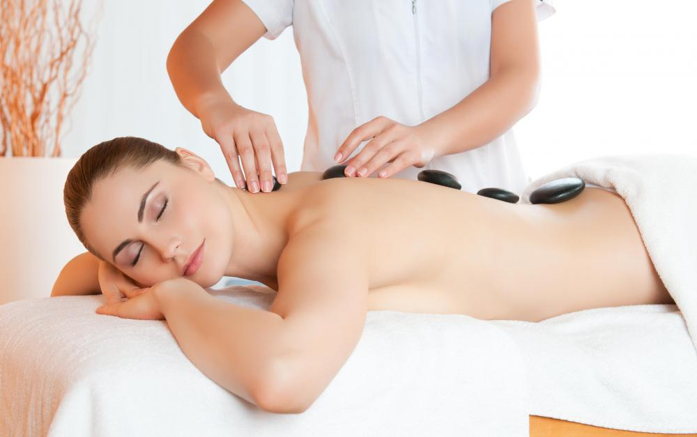 Hot stone massages may also be an offered house call service.