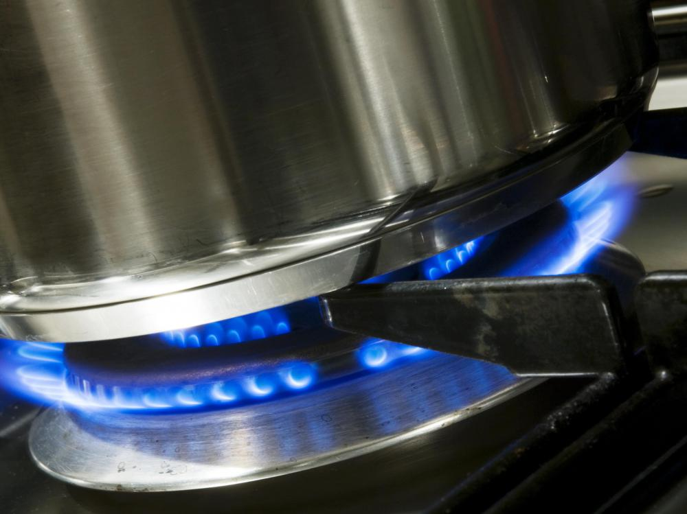 There are some precautions that should be taken when using a gas stove in a basement kitchen.