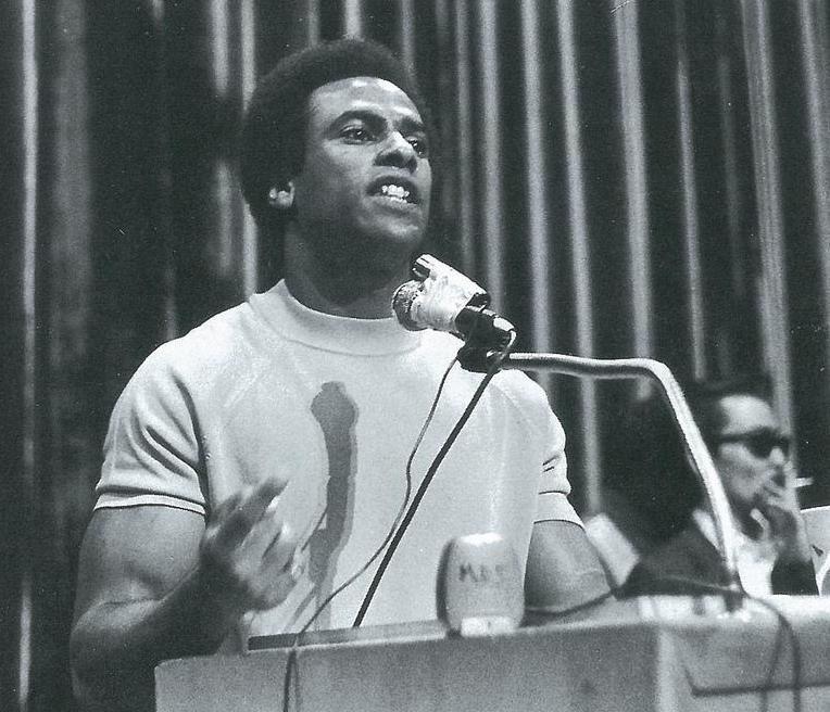 Huey Newton was one of the founding members of the Black Panther Party.