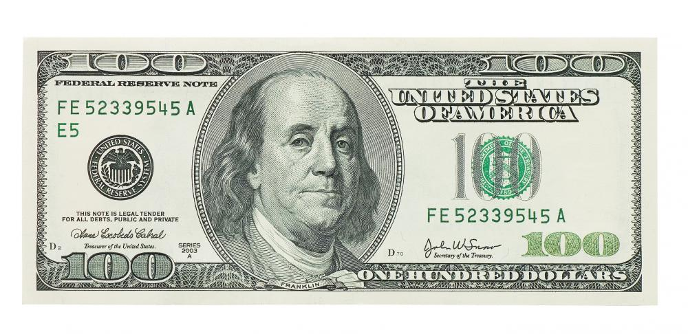 Many places, especially smaller businesses, will refuse to accept any cash bills bigger than $20.00.