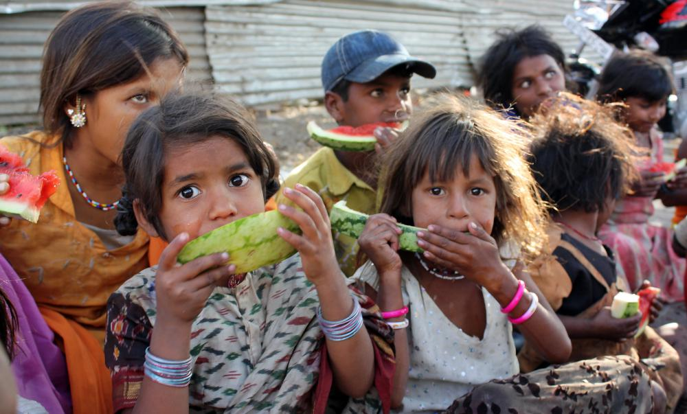 Children in poor communities are at an increased risk for chronic malnutrition.