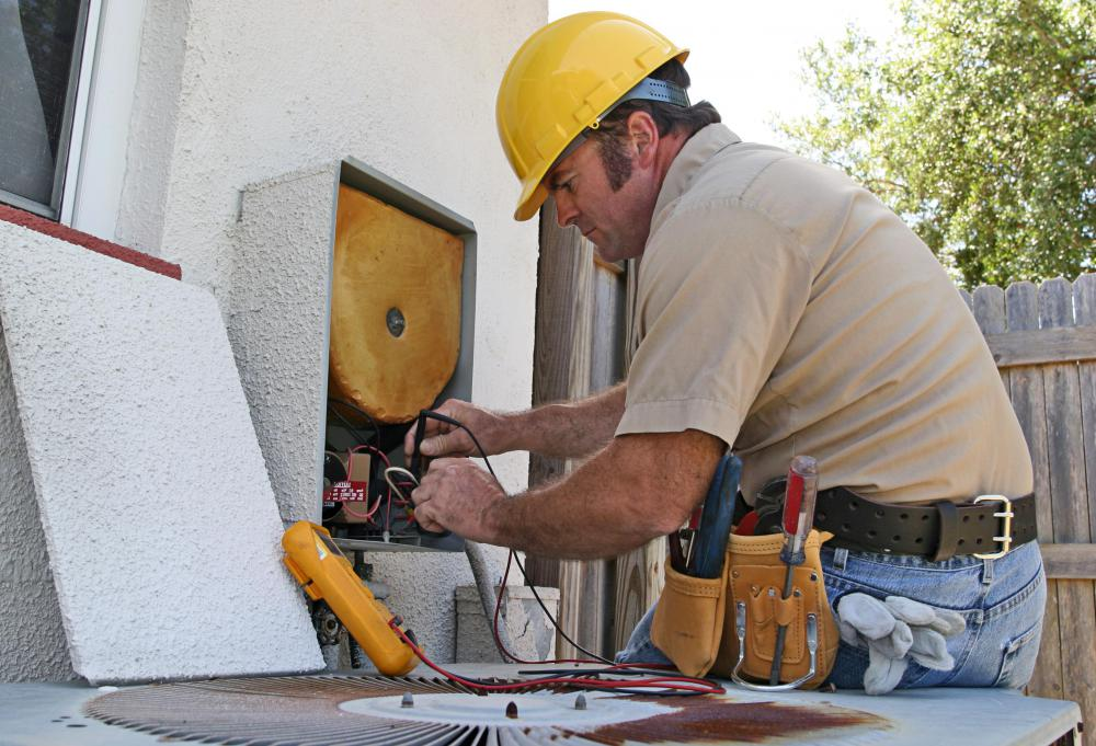 HVAC maintenance focuses on air conditioning and heating systems.