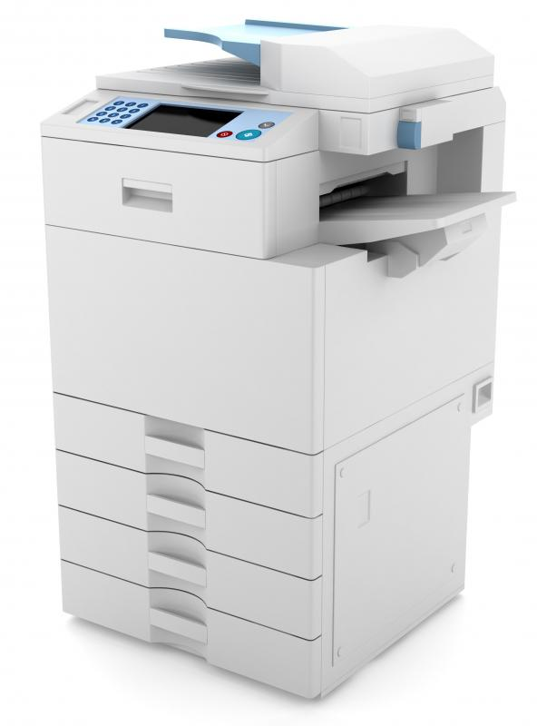 A previously-used copy machine would be considered secondhand equipment.