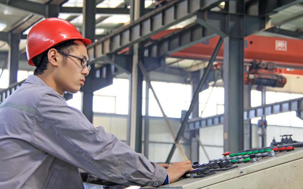 Production engineers work in industries including heavy steel, mining, glass and aluminum.