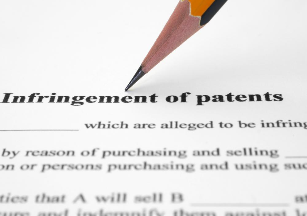Patent infringement is the unauthorized use, manufacture, sale, etc of a patented product or process.