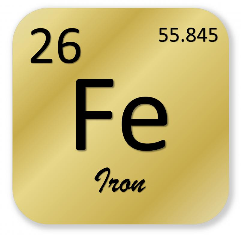What are transition metals with pictures - Iron on the periodic table ...