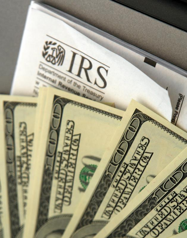 The IRS encourages quarterly estimated payments from small businesses.