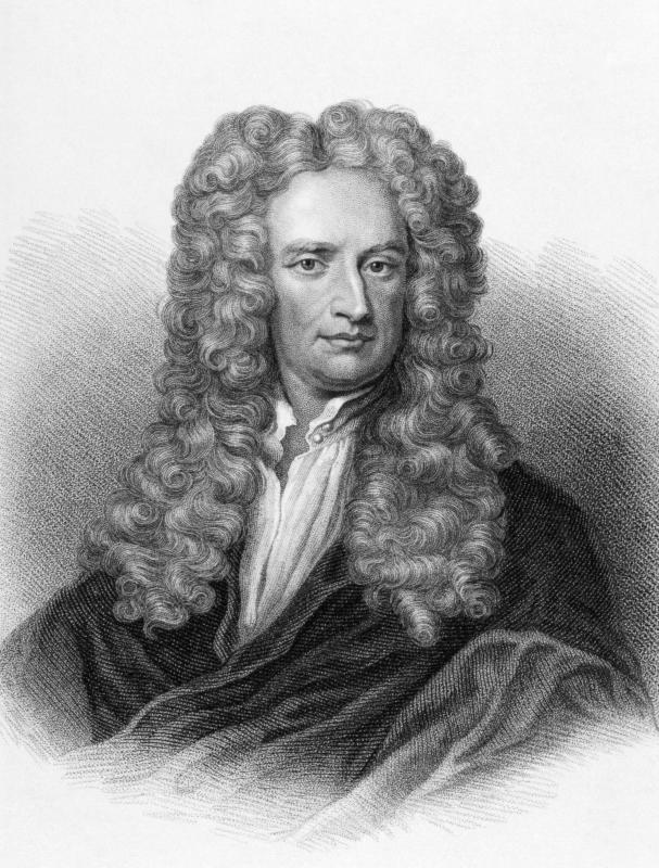 Isaac Newton created a scale to measure temperature in about 1700.