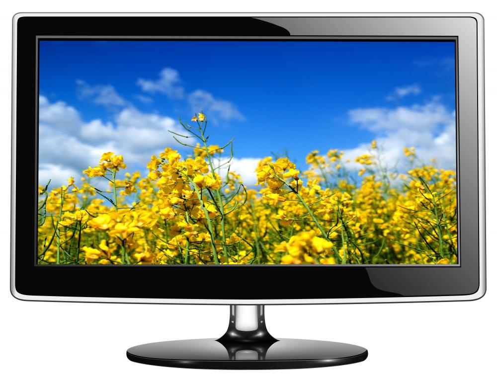 Because modern LCD monitors have better resolution than older models, high definition desktop wallpaper photos can be displayed on them without being distorted.