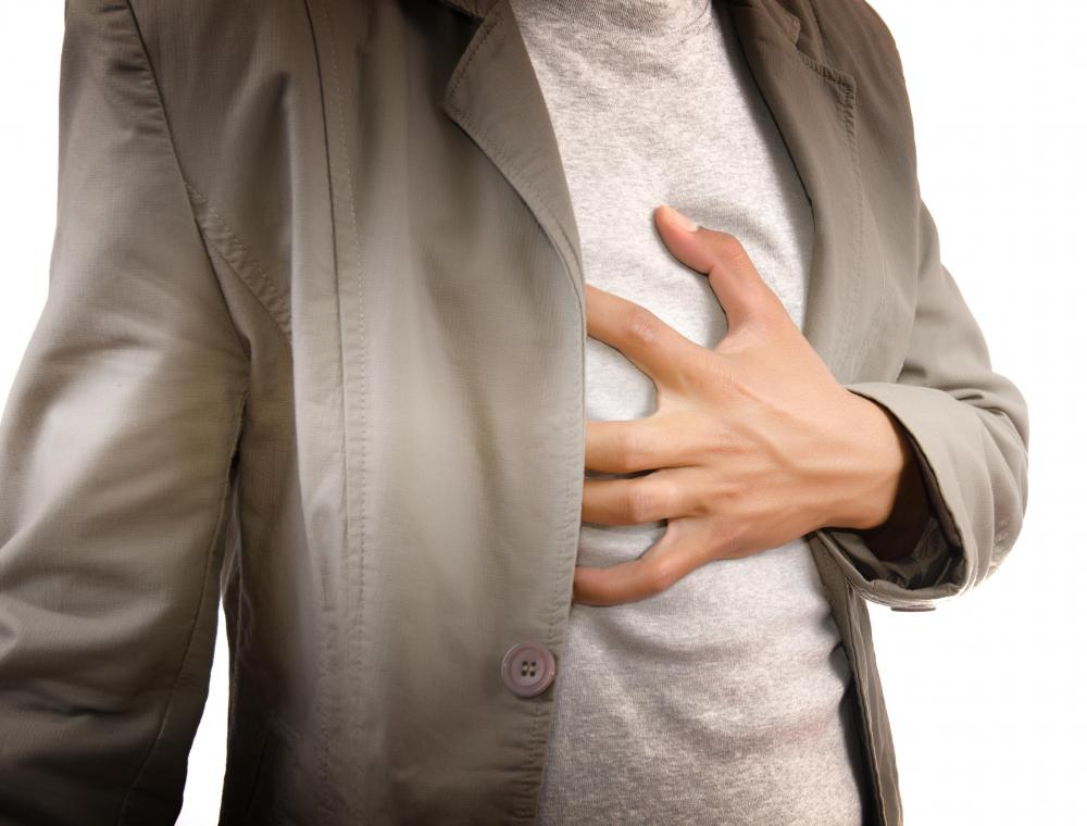 Tightness and pain in the chest is a sign of a possible biotin allergy.