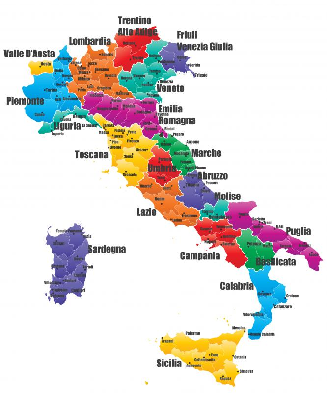 Northern Italy is famous for the dairy form of gelato.