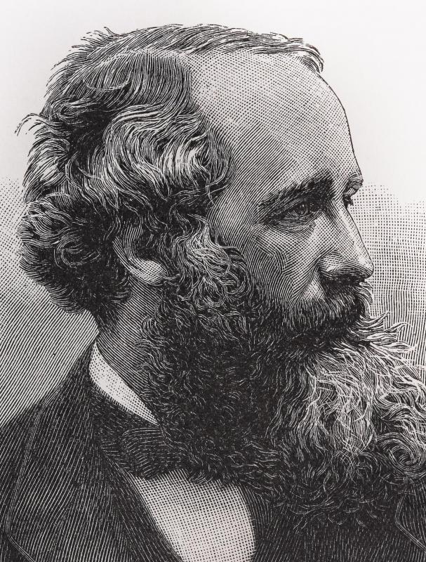 Physicist James Clerk Maxwell, who came up with the theory of electromagnetism, predicted radio waves.