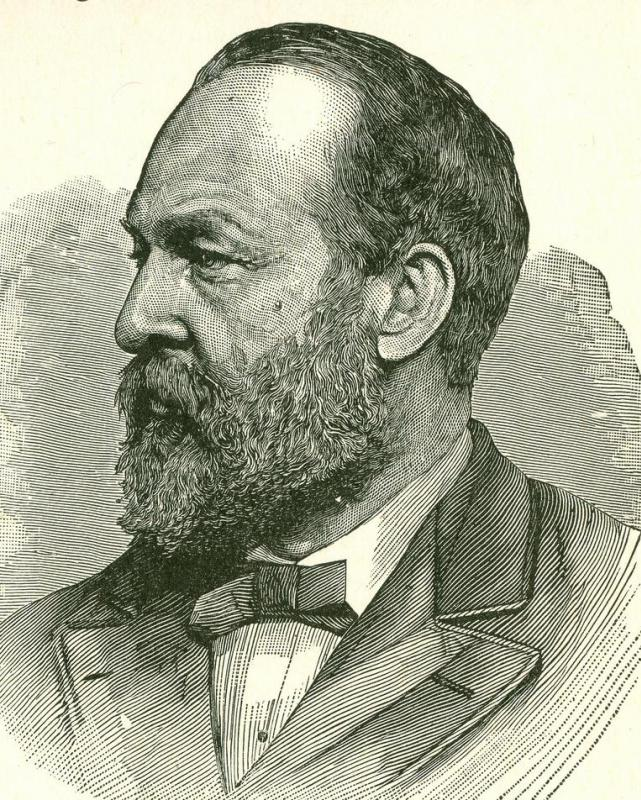 Opponents of presidential candidate James Garfield published a letter—later proved to be a forgery—they claimed was written by Garfield in which he recommended companies use cheap labor,including Chinese immigrants, when possible.