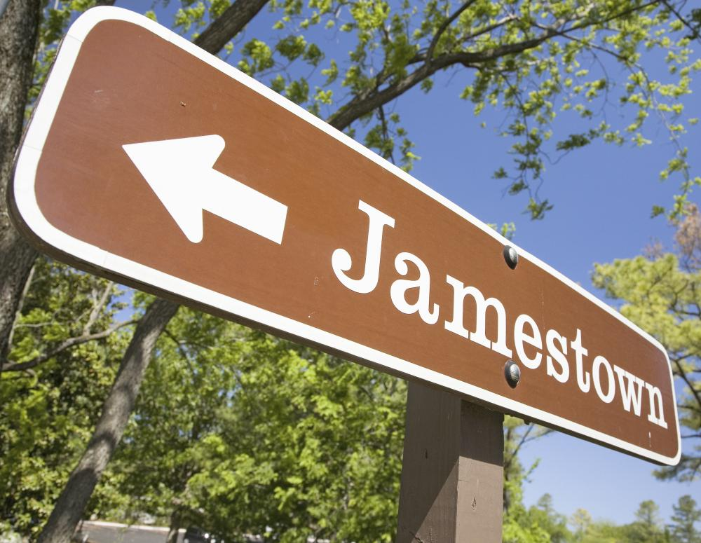 Located in Virginia, the colony of Jamestown was settled in 1607.