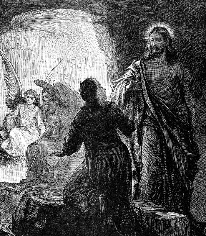 Mormons believe that after Jesus' resurrection, he visited them.
