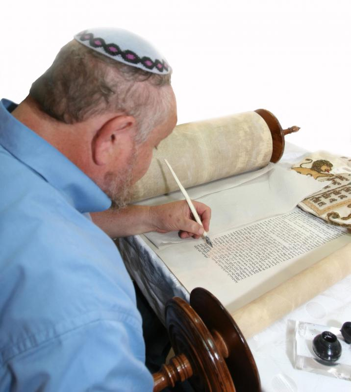 Judaism considers the Torah the most holy scripture.