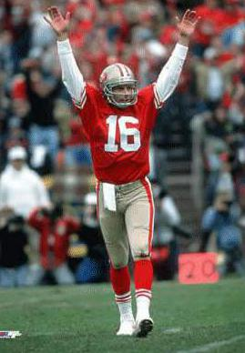 Joe Montana is a Pro Football Hall of Famer and is considered by many to be among the best quarterbacks to every play professional football.